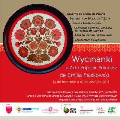 WYCINANKI e Arte Popular Polonesa de Emilia Piaskowski.