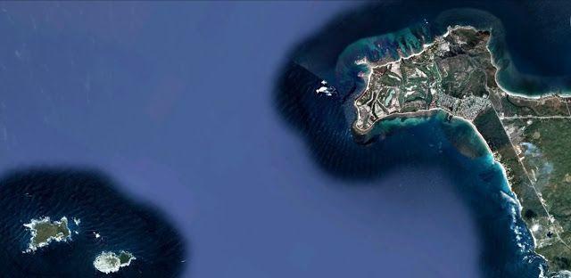 sancarlosfortin: punta mita e islas marietas en  nayarit en el ocea...