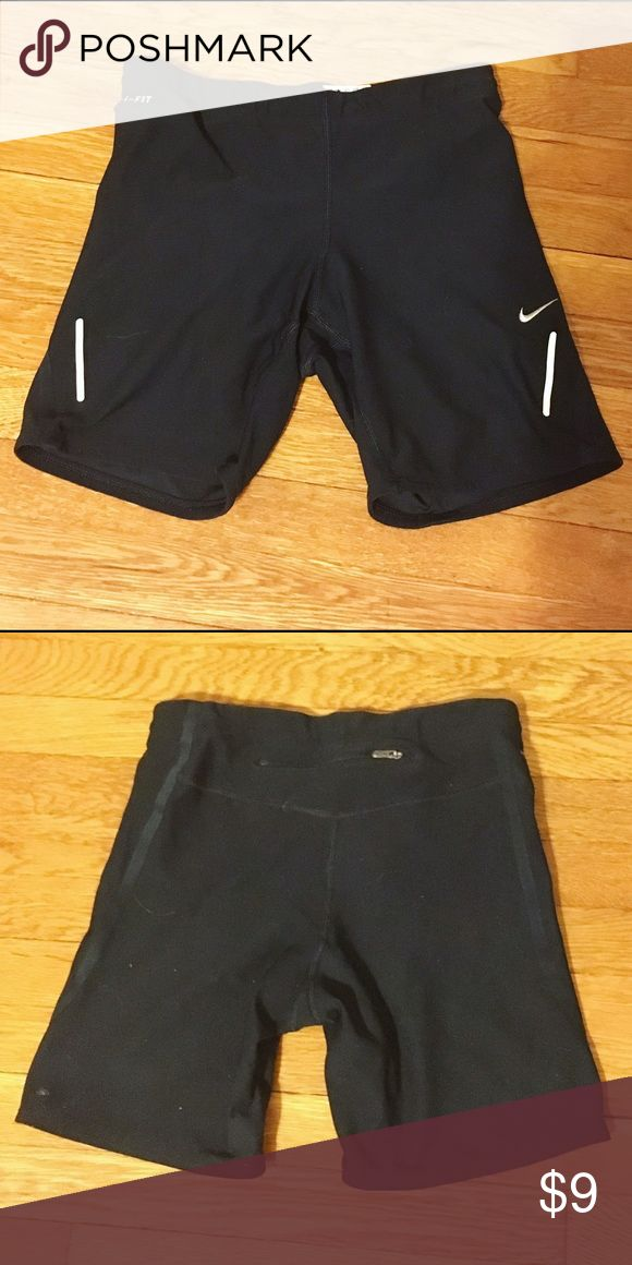 Nike compression shorts Fitted running shorts Like new condition Nike compression running shorts Nike Shorts