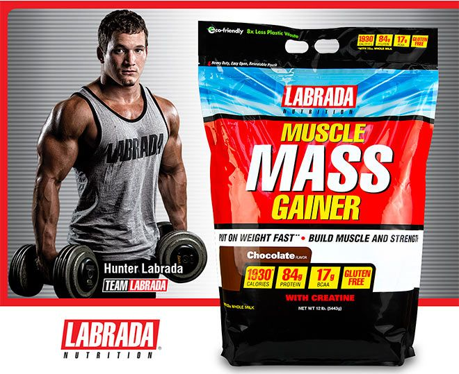 labrada muscle mass gainer how to use