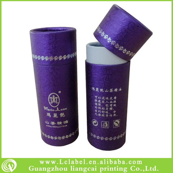round cylinder gift packaging box round cardboard boxes with lid
