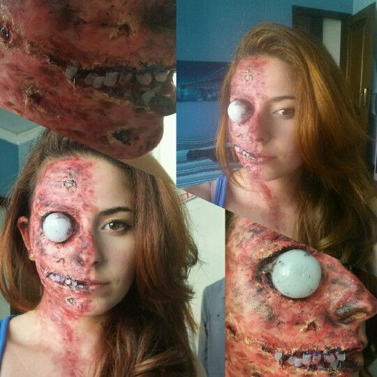 Halloween Make Up - Two Face