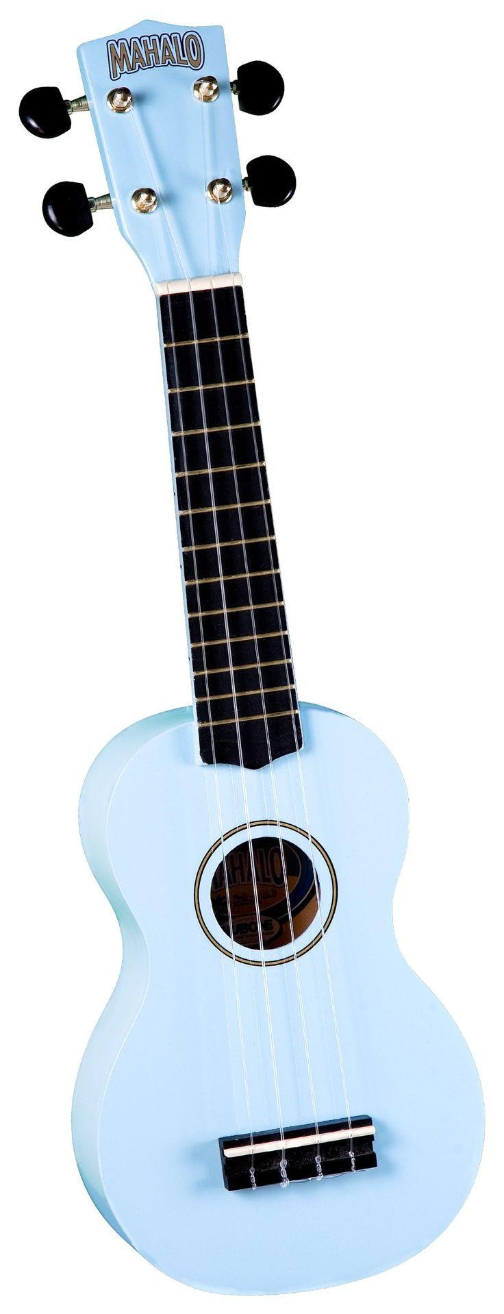Amazon.com: Mahalo U-30LB Painted Economy Soprano Ukulele (Light Blue): Musical Instruments