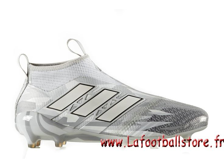 Adidas Homme Football Chaussure ACE 17+ PURECONTROL terrain souple Cool Grey  BB5953 - 1704060734 -