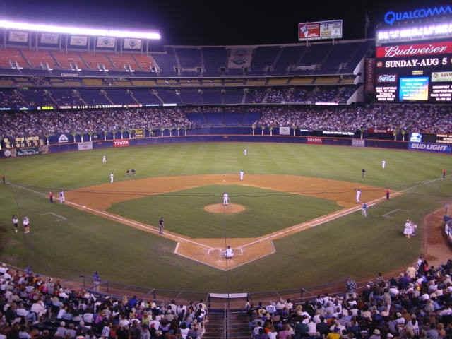 17 Best images about Baseball on Pinterest | Parks, San ... Qualcomm Stadium Baseballfootball