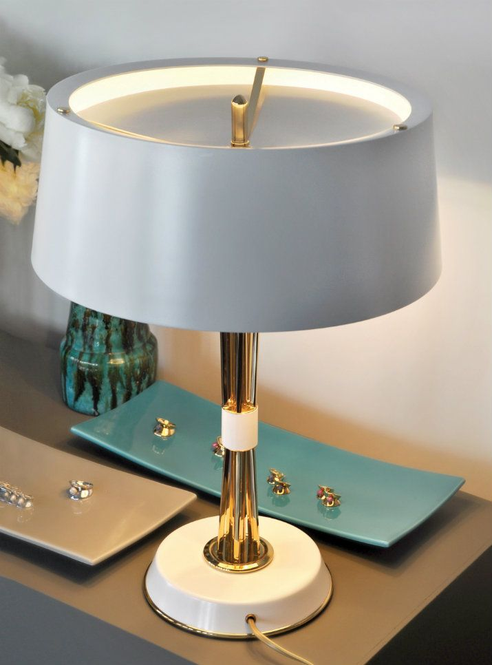 20 Brilliant Table Lamps That You Will Want To Have   Modern Lamps. Table Light. #modernlamps #tablelamps #tablelight Find more inspiration at: https://www.brabbu.com/en/inspiration-and-ideas/interior-design/brilliant-table-lamps-want