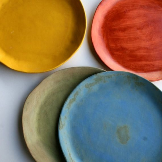 Rustic Dinnerware Set of 4