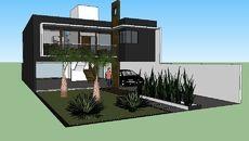 3D Model of casa com espaço gourmet total