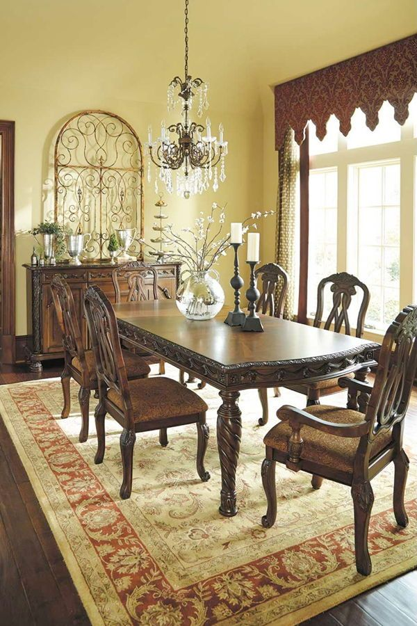 North Shore 7 Piece Dining Set Dining Room Design Round Dining