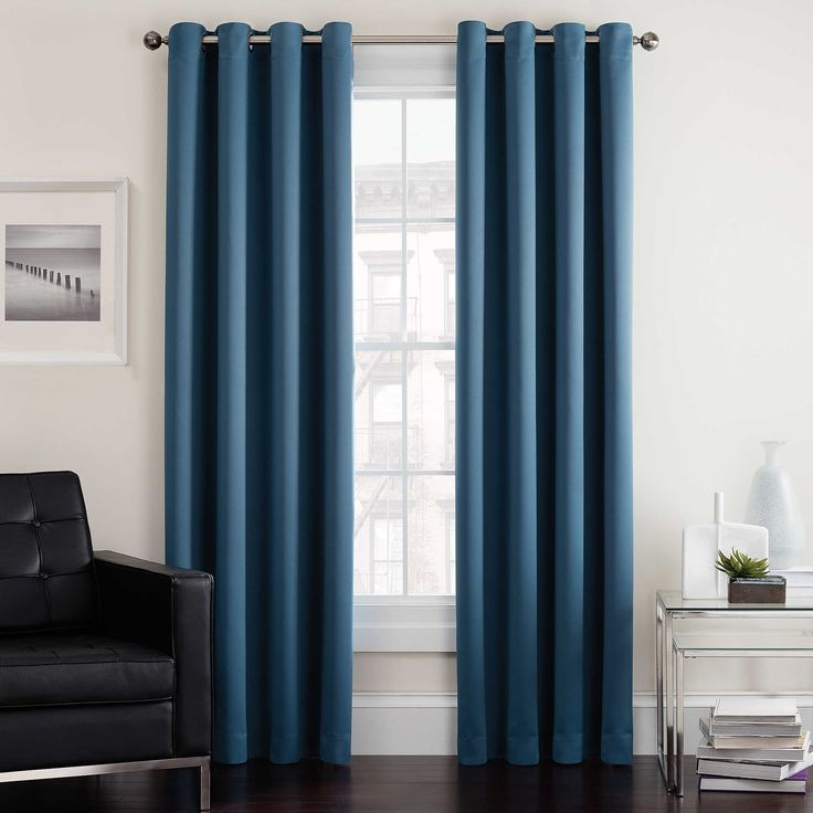 Twilight Room Darkening Grommet Top Window Curtain