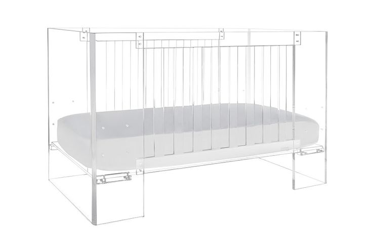 Vetro Crib - AFK Furniture lucite #drdnursery