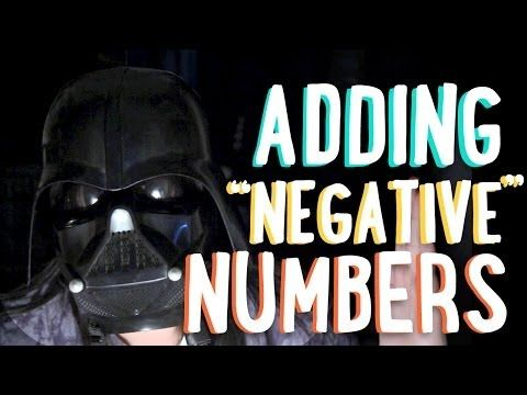 I showed this to my math class today and they LOVED it! Warning, the sound is very low. ▶ Adding Negative Numbers   Mean Girls and Darth Vader   PBSMathClub - YouTube