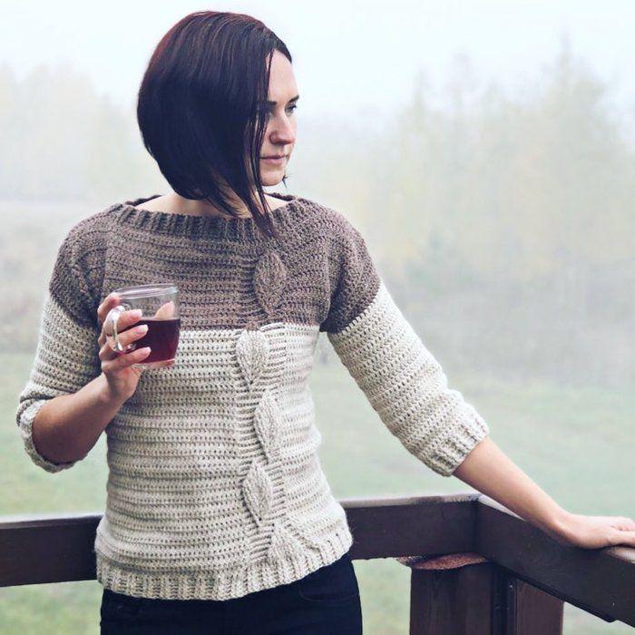 Картинка крючки свитер