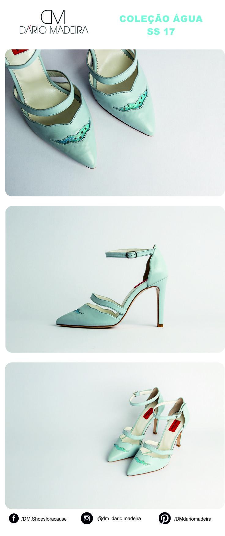 Sandália - Linha Água | SS17 | DM - Dário Madeira  Sapato de Senhora | Shoes for a cause | Calçado Português | Portuguese Shoes | Made In Portugal