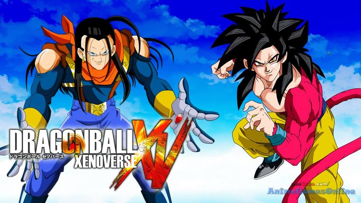 Super Saiyan 4 Goku vs Super 17 - Dragon Ball Xenoverse Gameplay