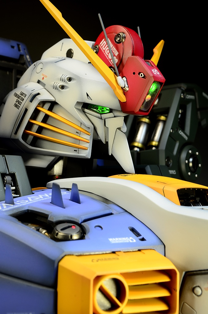 GK 1/35 EX-S Gundam Bust - Painted Build
