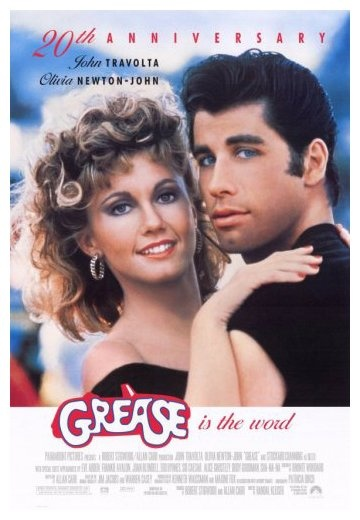 Grease is the word......Thought this movie was sooo cool when it came to theatres. had everyone taking about it.