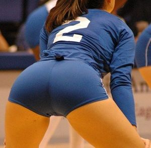 Ready to volley is listed (or ranked) 3 on the list The Hottest Volleyball Butts You'll Ever See