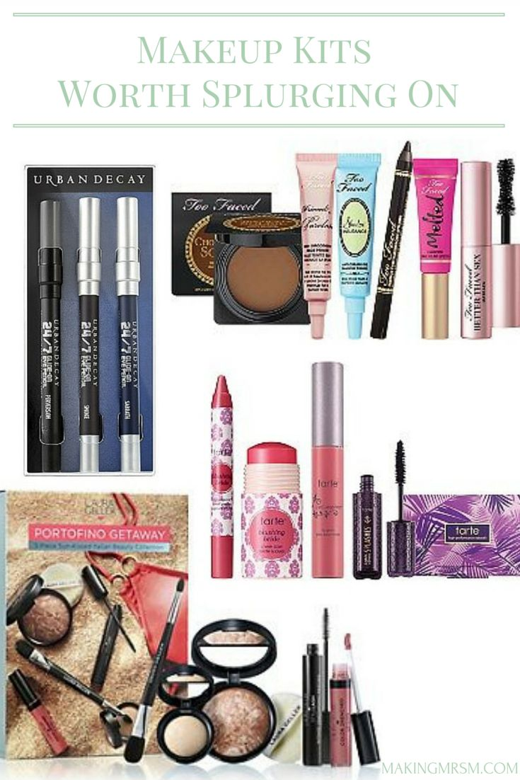 Makeup Kits are a great way to save money while still being able to try high end makeup products