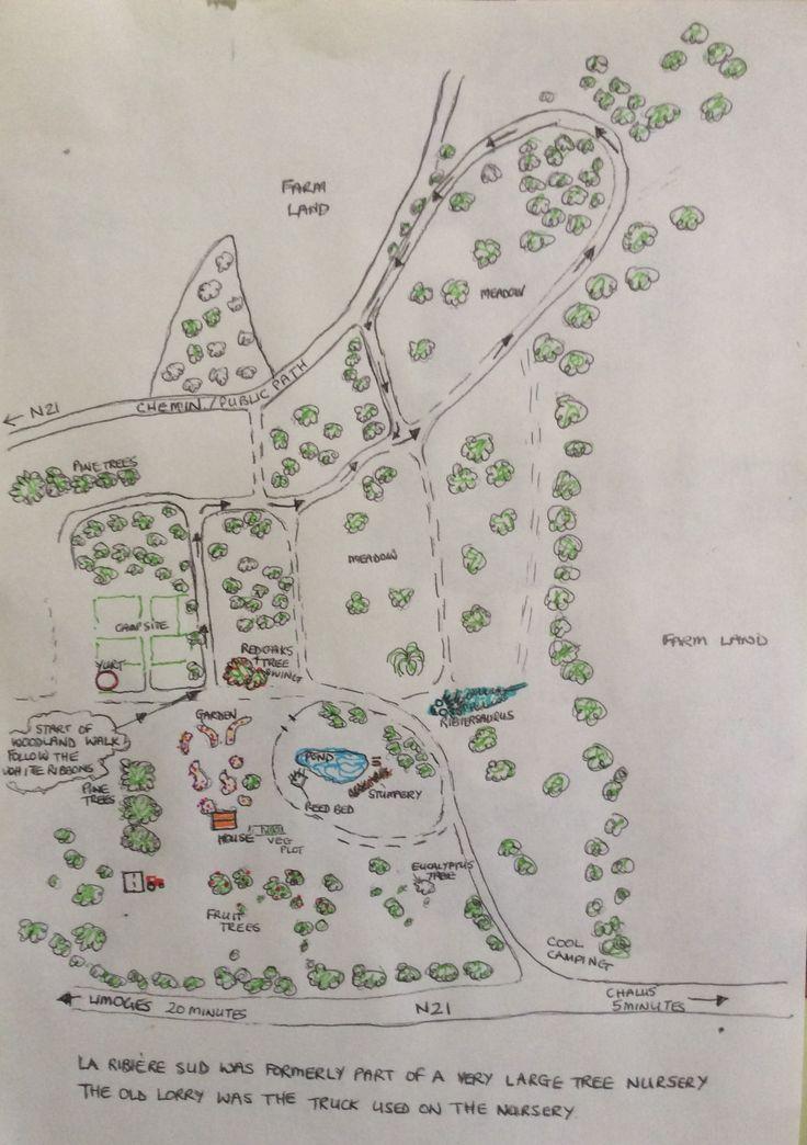 Take a tour around our woodland, meadows and garden