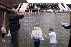 Risultati immagini per plastic bottle greenhouse