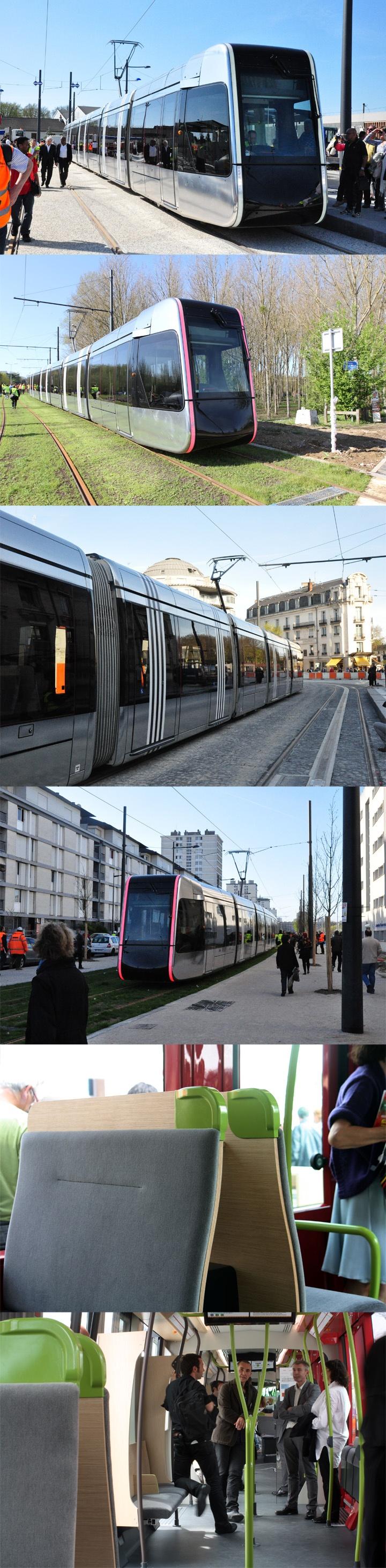 18 Apr 2013 - First train run - Tramway / Tram of Tours - rcp design global
