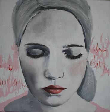 """Saatchi Art Artist Monika Holte; Painting, """"Listen"""" #art"""