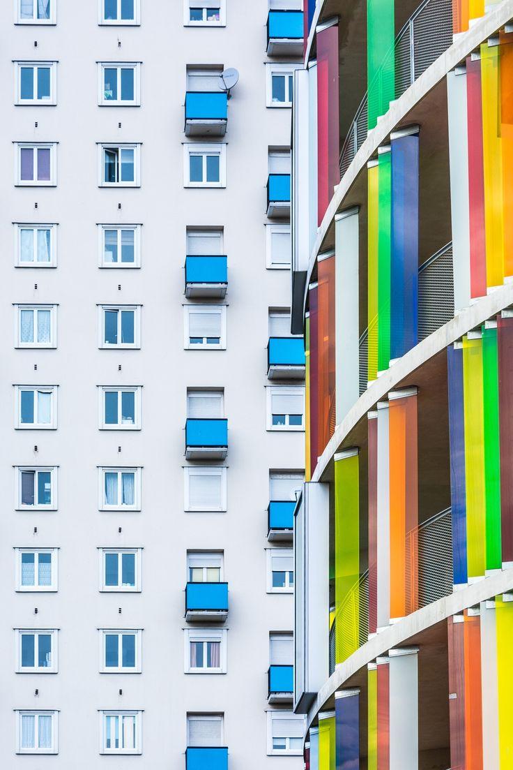 Logements Arc-en-ciel à Bordeaux by Pierre L'Excellent on 500px