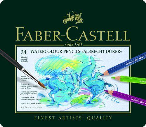 ファーバーカステル アルブレヒト デューラ水彩色鉛筆 24色 缶入117524 ¥ 3,730