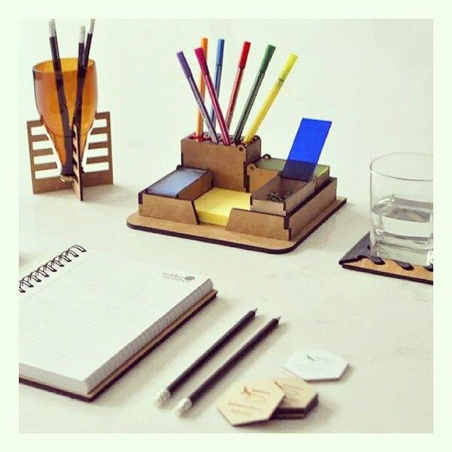 Productos ecol gicos para oficina lapicera de vidrio for Escritorios para oficina
