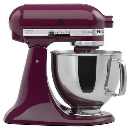 Kitchenaid Stand Mixer In Boysenberry Purple Burgundy