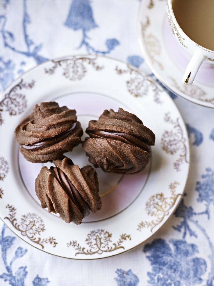 Chocolate Mousse Melting Moments #howto #tutorial