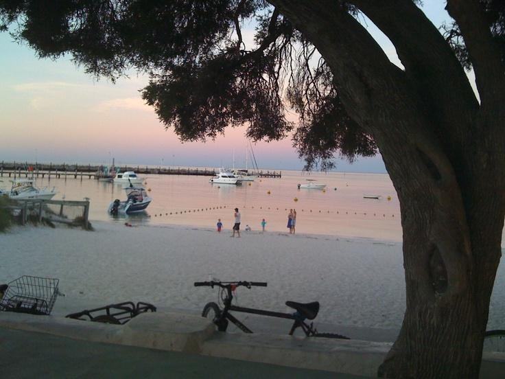 Rottnest Island pub at sunset