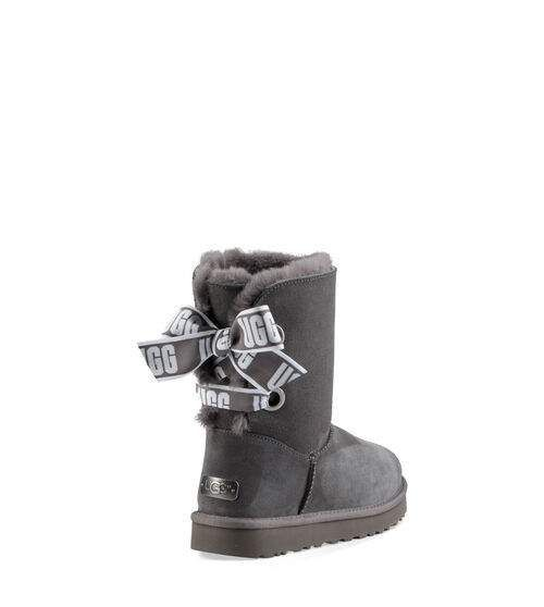 UGG Women's Customizable Bailey Bow Short Boot Suede In