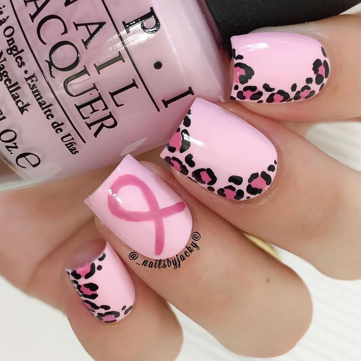 17 Manicures That Will Get People Talking About Breast Cancer Awareness
