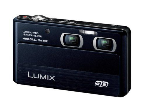 Panasonic digital cameras Lumix 3D shooting black DMC3D1K ** Click on the image for additional details. #NicePhotos