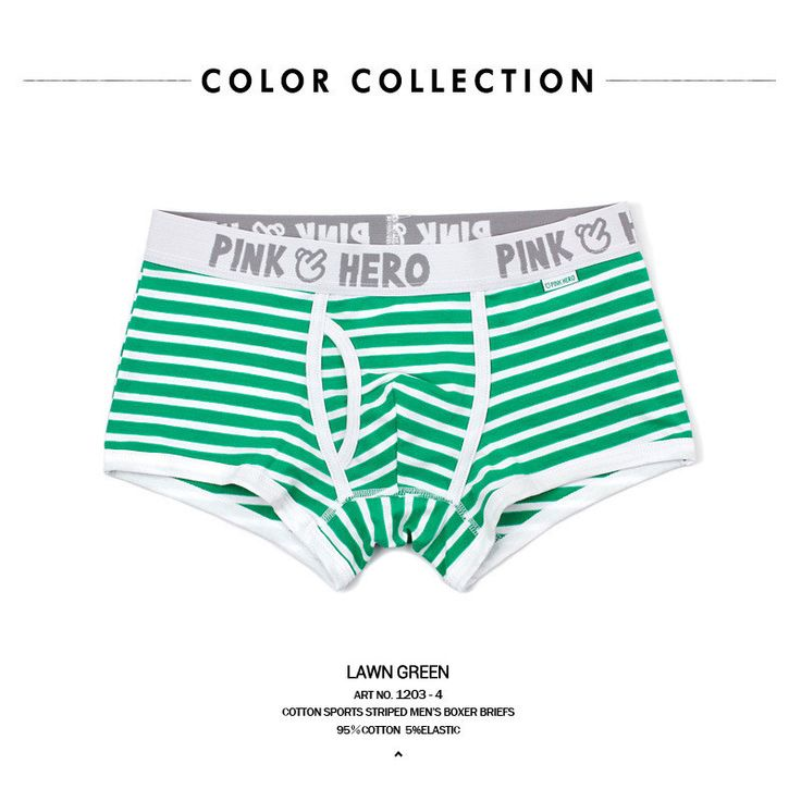 Striped Cotton Comfortable Panties Hot Sale Men Male Underwear Men's Boxer Underwear Sexy Men Underwear Boxer Underpants New
