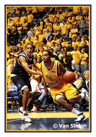 WVU Basketball . . . I've seen a football game and I can't wait to see more!  Maybe by the time Bball season comes back, I will be able to see one of these games at WVU