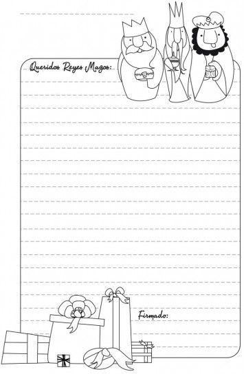 Menta Más Chocolate - RECURSOS y ACTIVIDADES PARA EDUCACIÓN INFANTIL: Carta para los Reyes Magos