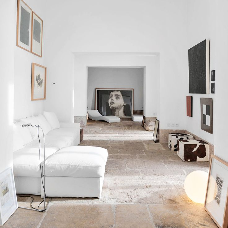 Thoughts on this natural stone flooring? We're loving it! And yes, of course our Everyday Floor Cleaner would clean and protect those floors without a fuss. Space by Aires Mateus.