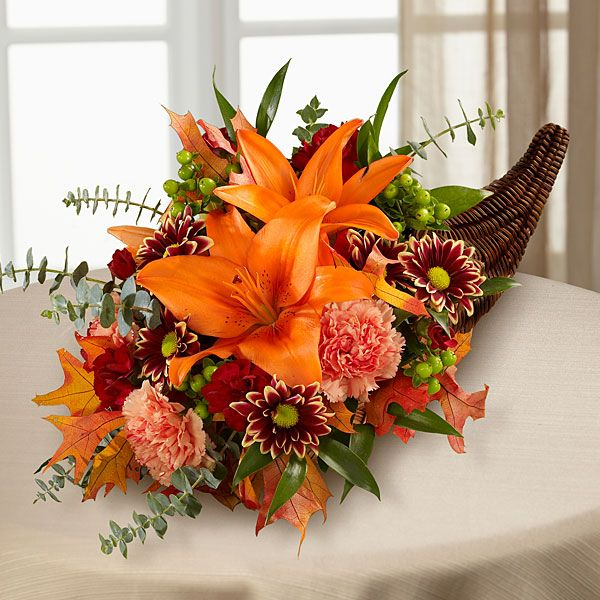 39 Best Cornucopia Centerpieces Images On Pinterest