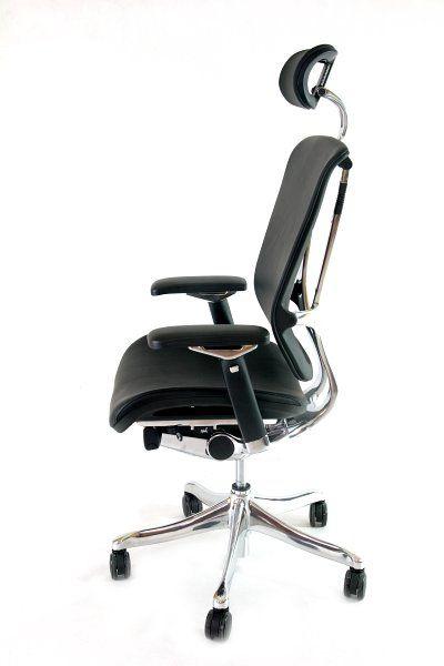 Fotel biurowy Ergomax Nefil - skóra (3)
