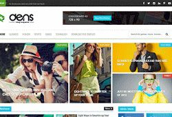 Dens Blogger Template