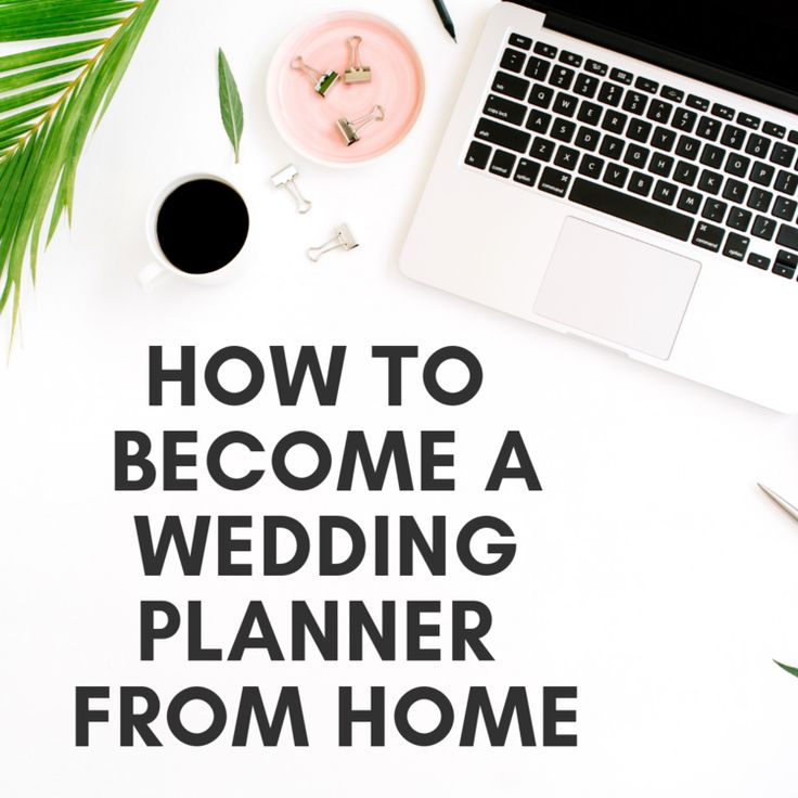 How to a Wedding Planner From Home (With images