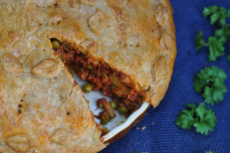 Maltese corned beef pie - Torta tal-bulibif - A Maltese Mouthful