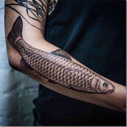 El pescado representa la vida, la fertilidad y la resistencia