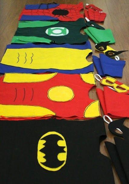 cómo hacer un disfraz casero de superheroes