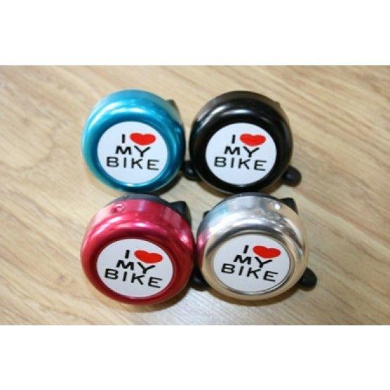 I Love My Bike Kids Bike Bell | Little Bike Company
