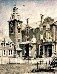 Brockenhurst Park Hants, lost 1960 replaced by modern house.