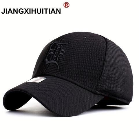 40c030b903e39d Casual Quick Dry Snapback Men Full Cap Hat Baseball Running Cap Sun Visor  Bone Male Casquette Gorras 2018 New Hat